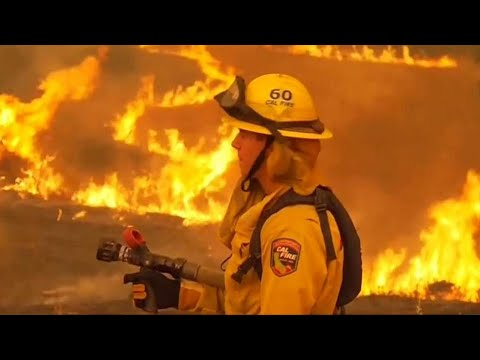 California's Carr wildfire chars nearly 90,000 acres