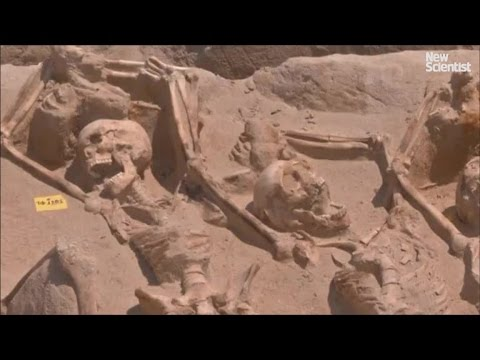 Ancient Mass Grave Found In Greece