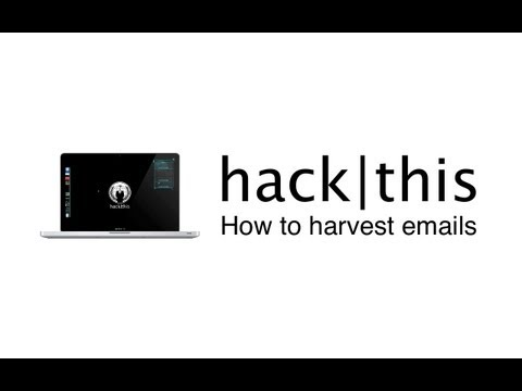 How To: Harvest Email Addresses (msfconsole)