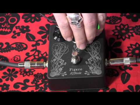 Figure Effects Fig. 11 Overdrive Guitar Pedal Demo With Kingbee Tele & Dr Z M12