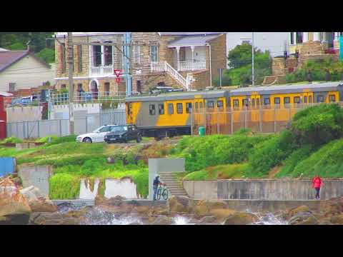 Scenic Cape Town Metro along the Muizenberg Beach | South Africa
