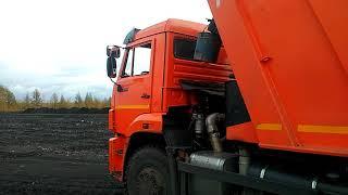 Подогрев кузова КамАЗ 6520 смял гидробак, устранение недоделок завода изготовителя, быстрый способ.