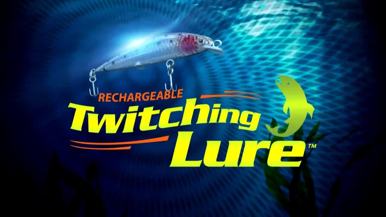 rechargeable twitching lure: murph's testimonial - youtube, Reel Combo