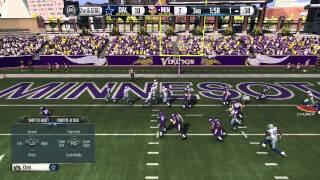 Madden 15 | Cowboys vs Vikings Online Ranked Gameplay |