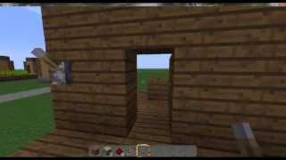 Minecraft. Как сделать потайную дверь.(В этом видео Я покажу Вам как нужно делать потайную комнату в Minecraft., 2013-04-21T09:48:41.000Z)