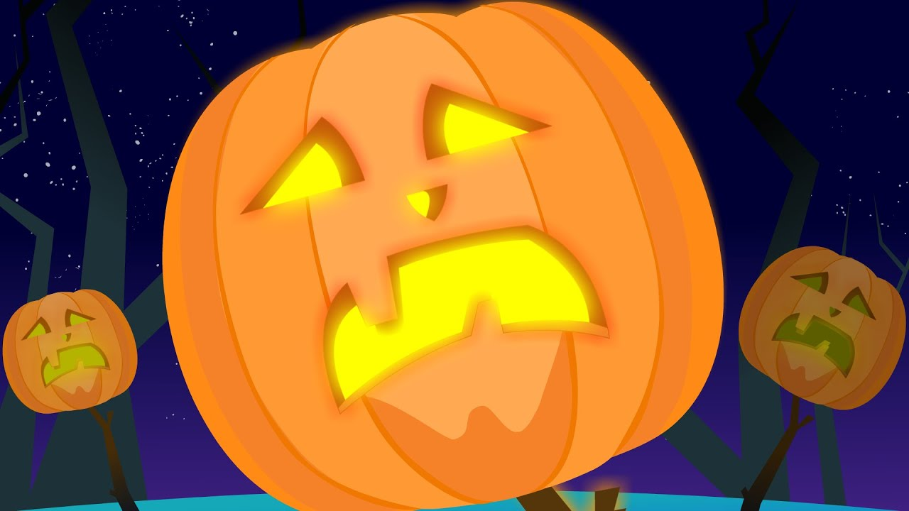 scary pumpkin nursery rhymes songs for kids and children happy halloween youtube - Spooky Halloween Music Youtube