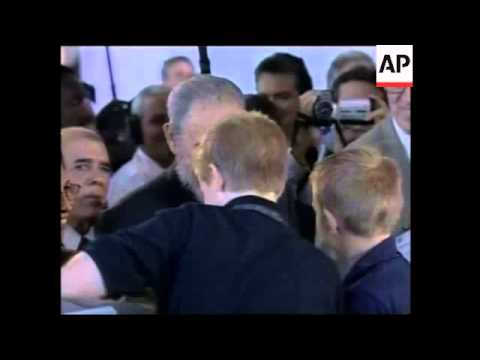US Cuban trade fair opens, US governor meets Castro