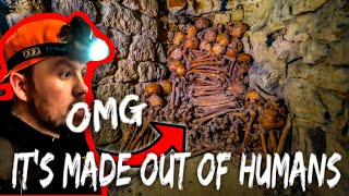 WARNING Scariest underground experience yet!! (HUMAN BONES EVERYWHERE)