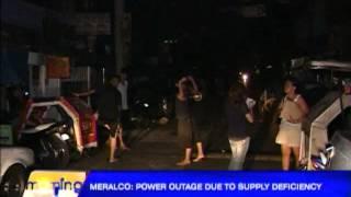 Blackouts hit Metro Manila anew