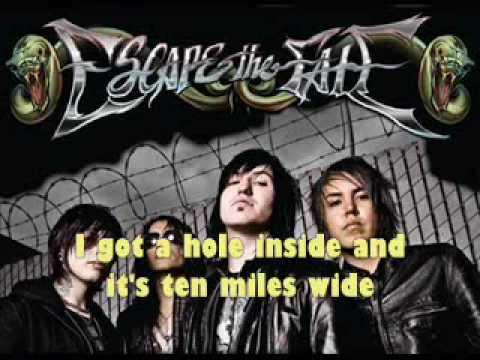 Escape The Fate 10 Miles Wide (LYRICS)