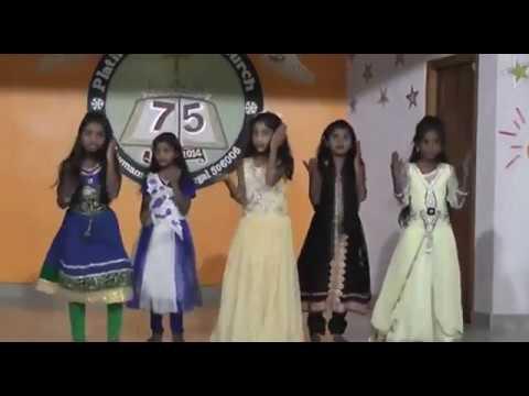 Dance Performed for a song Okadivyamina Sangathi  By Sunday school Students Enumamula
