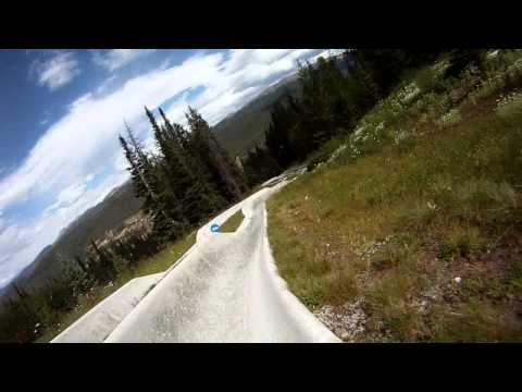 Alpine Slide - Winter Park - Smokin fast!