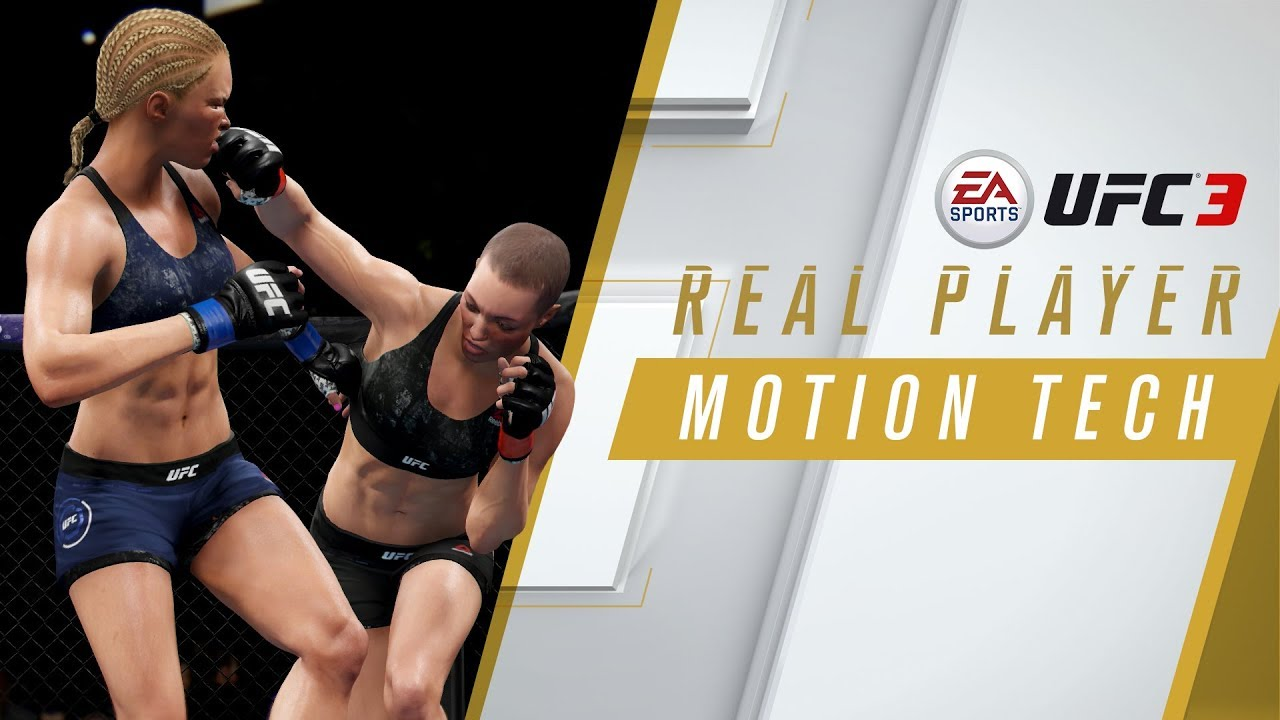 EA SPORTS UFC 3   Real Player Motion Tech