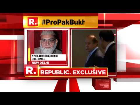Syed Ahmed Bukhari Defends His Stance | Republic TV