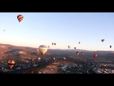 2017 International Balloon Festival Marked in Leon
