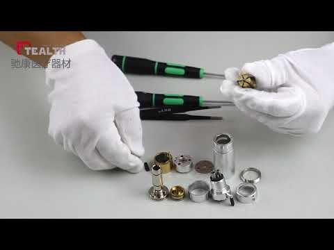 External irrigation air motor Pieza de mano dental   repair video