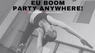 Kicking sensation Chloe Bruce puts UE Boom to the test | How to PARTY ANYWHERE