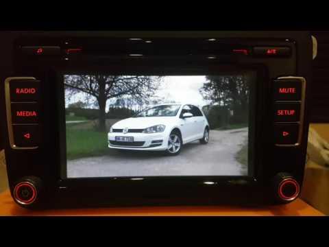 VW RCD510 modded WiFi display