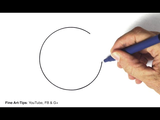 How to Draw a Perfect Circle Freehand – 3 hacks and techniques