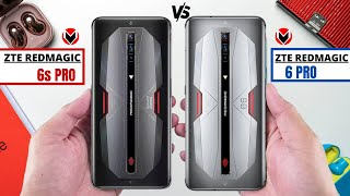 ZTE RED MAGIC 6S PRO VS ZTE RED MAGIC 6 PRO _ Full Detailed Comparison _Which is best Smartphone?