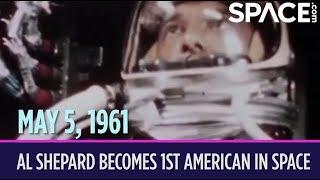 OTD in Space – May 5: Al Shepard Becomes 1st American in Space