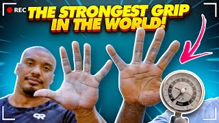 THE STRONGEST GRIP IN THE WORLD!