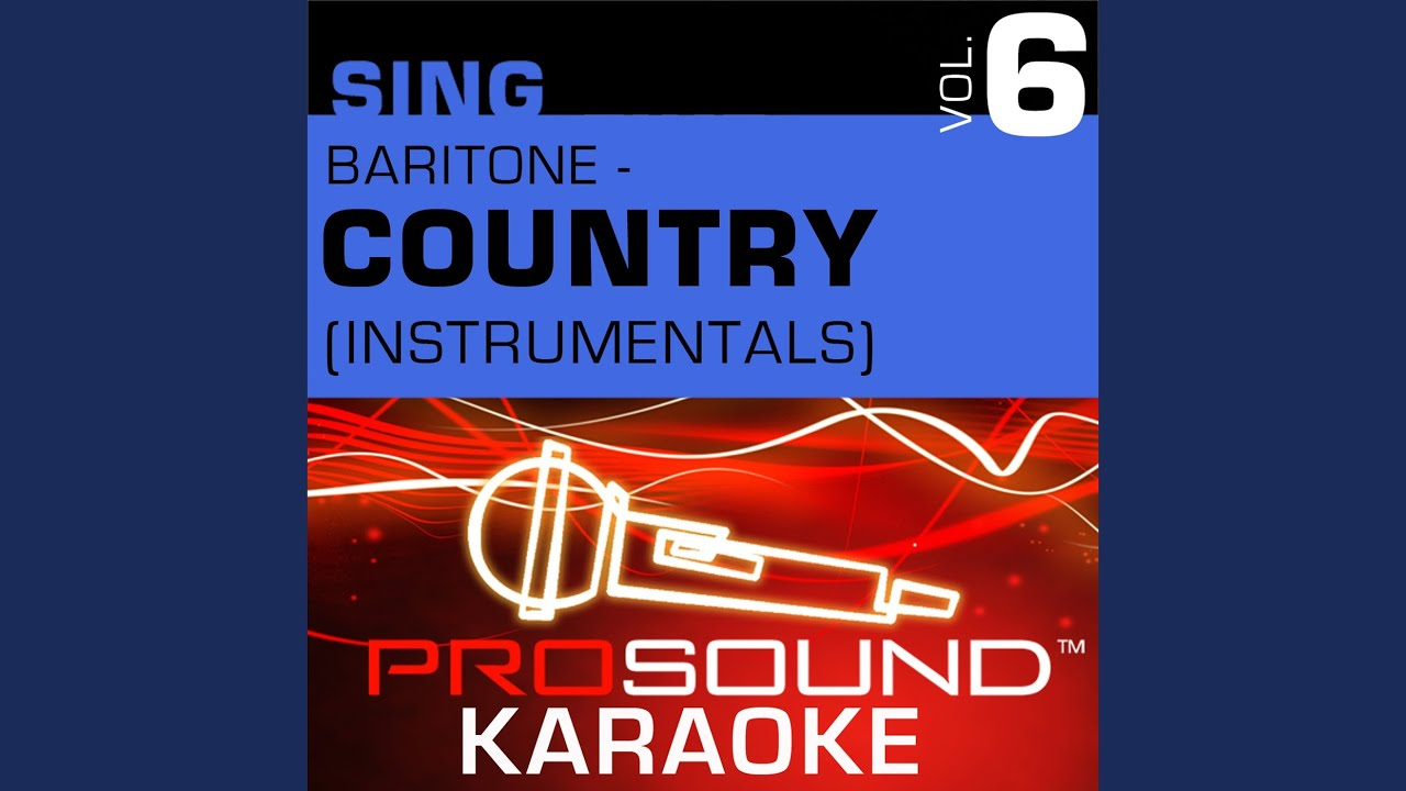 Courtesy Of The Red White Blue Karaoke Instrumental Track In