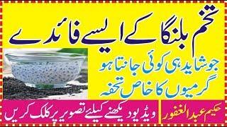 Health Tips in Urdu | Benefits of Basil seeds in Urdu/Hindi Benefits of Basil seeds for weight loss