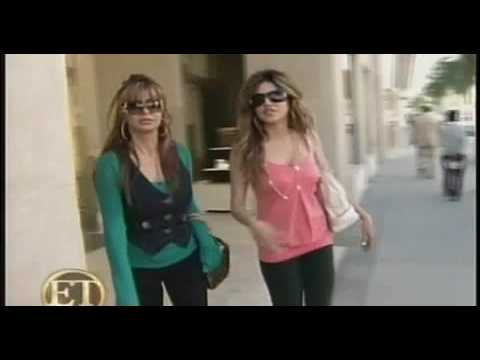 Leyla Milani spoils her mom on ET