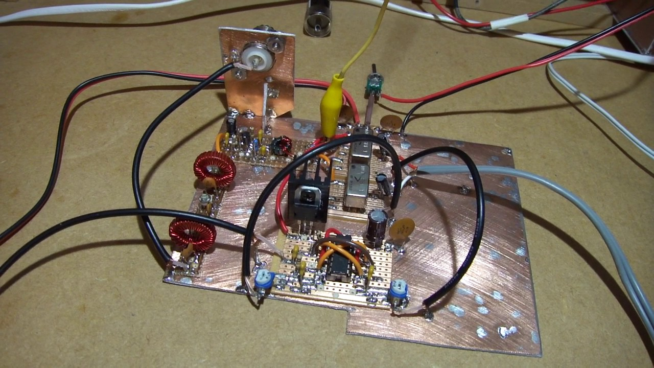 Homebrew Teensy SDR Transceiver Part 5 - Transmit experiments
