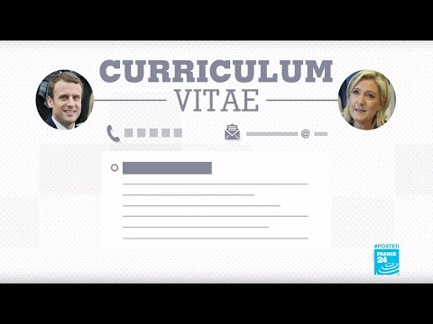 France Presidential Election: What are Macron's and Le Pen's CVS?
