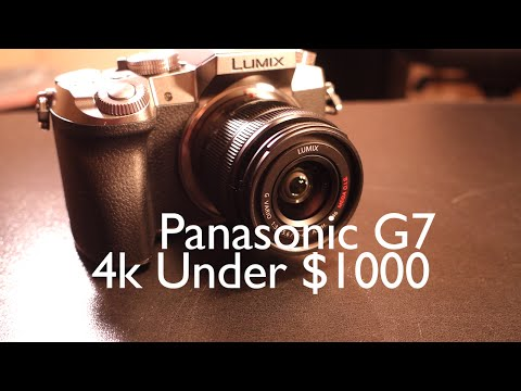 4k Under $1000 | Pansonic Lumix G7 Camera Unboxing/Walkthrough And Review