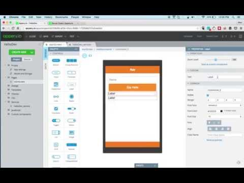 Build a Mobile App with Custom API Backend...