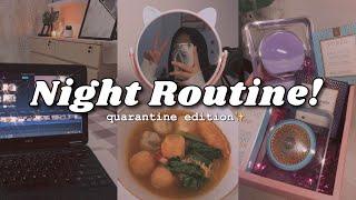 my night routine!🌛 *quarantine edition* // indonesia