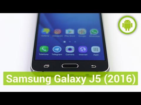 Samsung Galaxy J5 2016, recensione in italiano