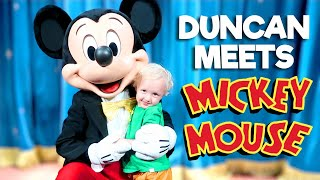 Duncan Meets Mickey Mouse!