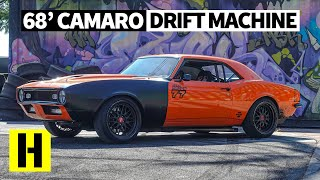 Not Your Typical Drifter: 1968 Camaro Party Car Has a 500hp SBC