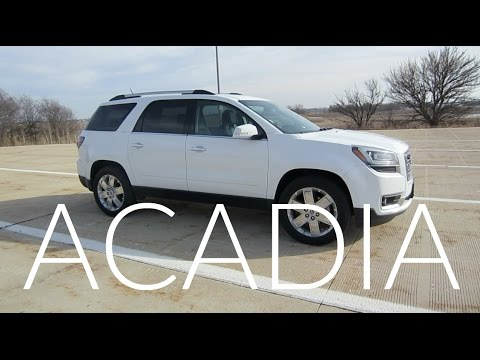 2017 GMC Acadia SLT-2 Limited Edition | Full Rental Car Review and Full Tour
