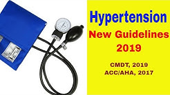 Hypertension New Guidelines