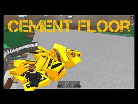 how to make cement floor