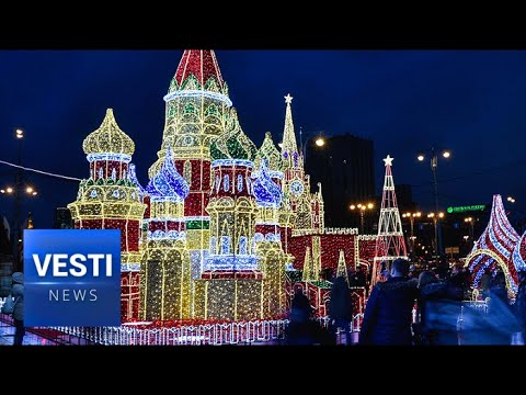 New Year's Comes to Life in Fairy Tale Streets of Moscow!