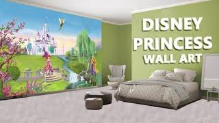 Hyderabad Kids Decor Disney Princes Wall Art.