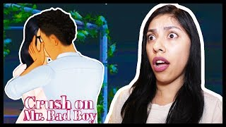 HE'S CHEATING ON ME WITH....ME?! WHAT!? - CRUSH ON MR. BAD BOY (Episode) - App Game