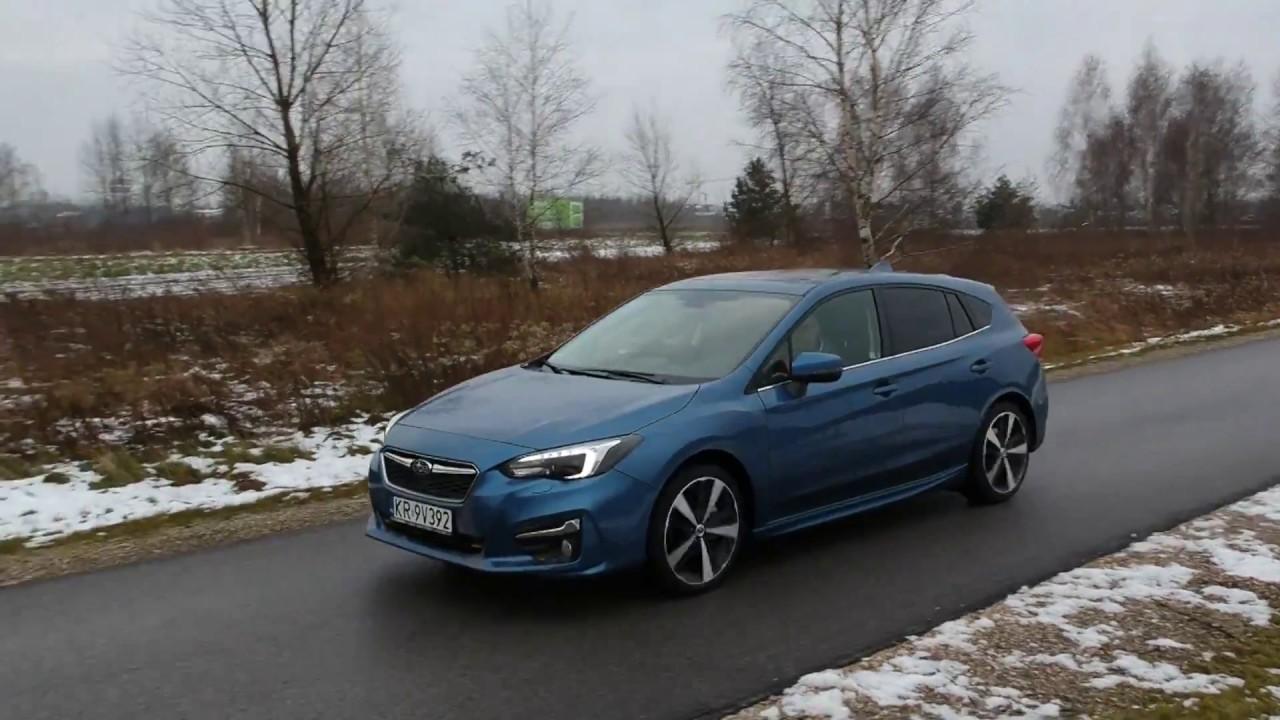 Subaru Impreza 2018 test PL Pertyn Ględzi