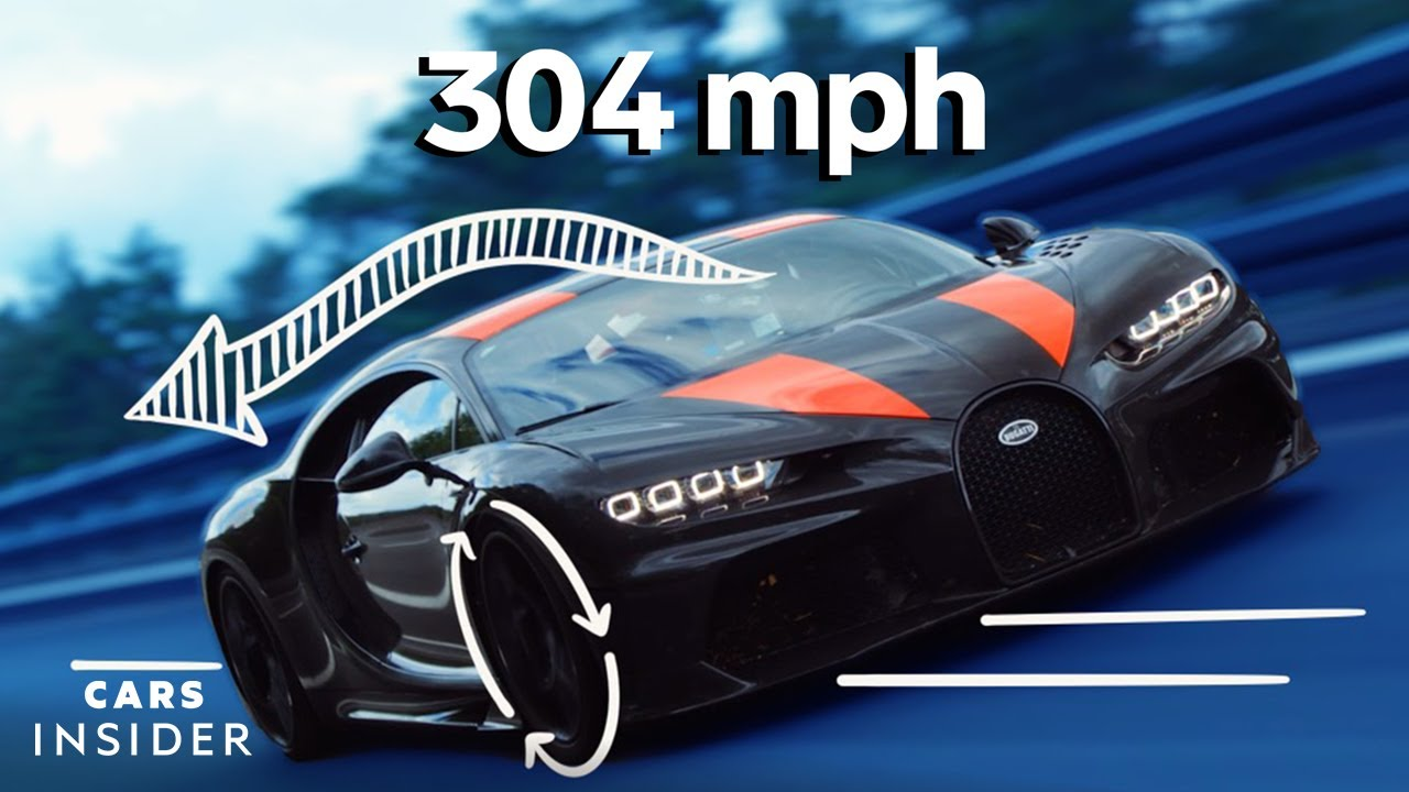 Why It's Almost Impossible For Cars To Go 300 Miles Per Hour