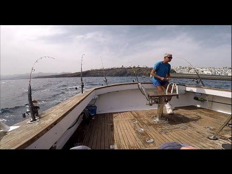 Trolling For Barracuda And Bonito In Lanzarote