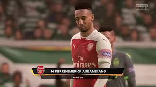 UEFA Europa League Highlights      Arsenal London vs Sporting Lissabon     (8.11.2018)