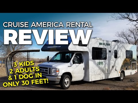 CRUISE AMERICA REVIEW! Rental Class C RV Likes And Dislikes