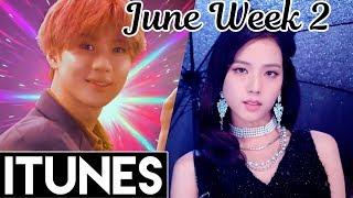 [TOP 30] US iTunes Kpop Chart 2018 [June Week 2] - itunes charts today us
