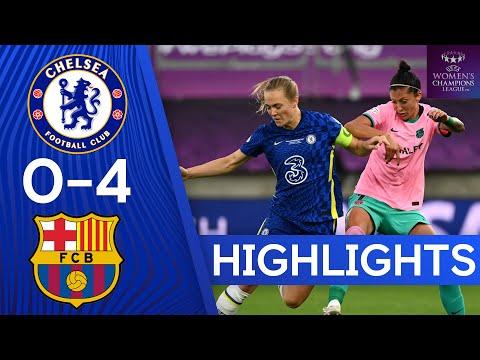 Chelsea 0-4 Barcelona   UEFA Women's Champions League Final   Highlights